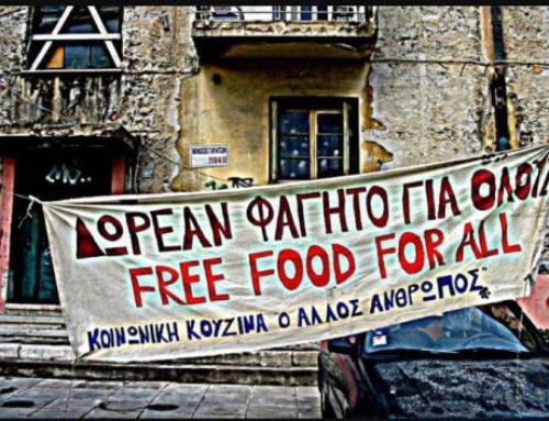 Δωρεάν φαγητό για όσους το έχουν ανάγκη στην Αθήνα