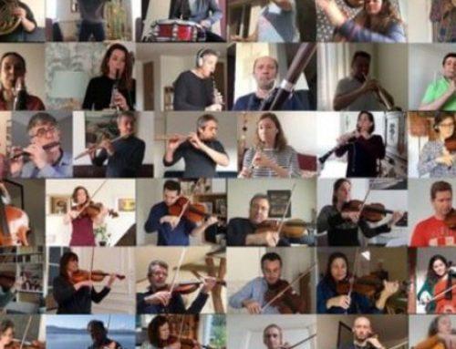 Η Εθνική Ορχήστρα της Γαλλίας παίζει το Bolero του Ραβέλ με 51 μουσικούς από το σπίτι