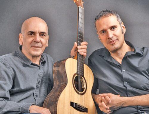 Ορφέας Περίδης και Μανόλης Ανδρουλιδάκης «Με δύο Κιθάρες» στο Faliro Summer Theater