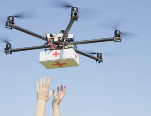 Τα Τρίκαλα είναι πάλι μπροστά: Με drones η μεταφορά φαρμάκων